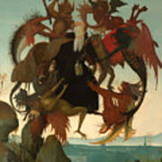 The Torment Of Saint Anthony Poster