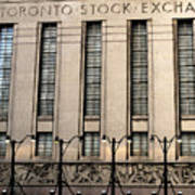 The Toronto Stock Exchange Poster