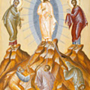 The Transfiguration Of Christ Poster by Julia Bridget Hayes