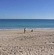 The Treasure Coast At Vero Beach In Florida Poster
