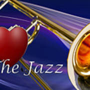 The Trombone Jazz 001 Poster