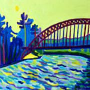 The Tyngsborough Bridge Poster