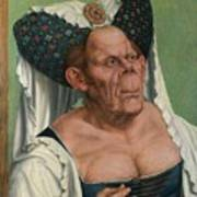 The Ugly Duchess, By Quentin Matsys Poster