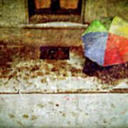 The Umbrella Poster by Silvia Ganora