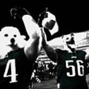 The Under Dogs Philadelphia Eagles Poster
