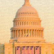 The United States Capitol Poster