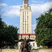The University Of Texas Tower Poster