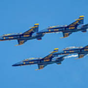 The Usn Blue Angels Poster