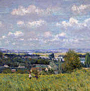 The Valley Of The Seine At Saint Cloud Poster