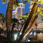 The Venetian Hotel And Casino Las Vegas Poster