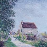 The Village Of Sablons Poster