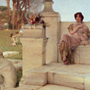 The Voice Of Spring Poster by Sir Lawrence Alma-Tadema