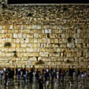 The Wailing Wall - Jerusalem  Poster