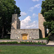 The War Memorial Chapel At Virginia Tech Poster