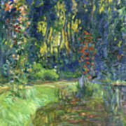 The Water-lily Pond At Giverny  Poster