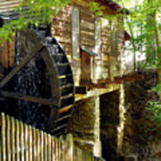 The Water Wheel Poster