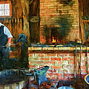 The Way We Were - The Blacksmith - Paint Poster