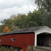 The West Union Covered Bridge Poster
