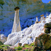 The White Hoodoos Poster