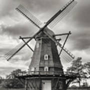 The Windmill At Kastellet Poster