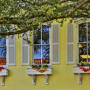 The Windows Of Amelia Island Poster