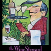 The Wine Steward - Poster Poster