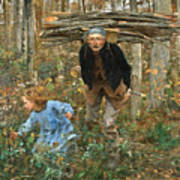 The Wood Gatherer Poster