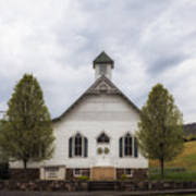 The Woodrow Union Church In Paw Paw West Virginia Poster
