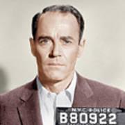 The Wrong Man, Henry Fonda, 1956 Poster