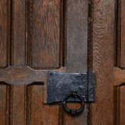 The Wrought Iron Handle Poster