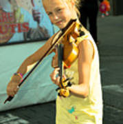 The Young Violinist  Poster