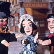 Theater: Puppet Characters Poster