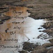 Things Have A Way Poster