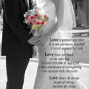 Things To Remember About Love - Black And White #3 Poster