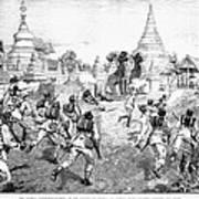 Third Burmese War, 1885 Poster