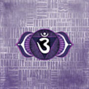Third Eye Chakra - Awareness Poster