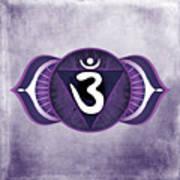 Third Eye Chakra Poster by David Weingaertner