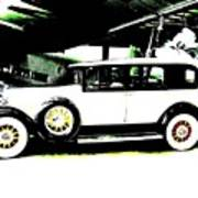 Thirties Packard Limo Poster