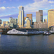 This Is The Skyline And Harbor Poster