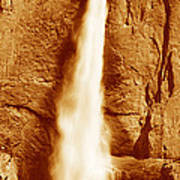 This Is Upper Yosemite Falls Poster