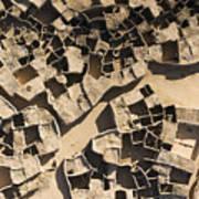 This Old Salt Slab Town In Dirkou Poster