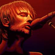 Thom Yorke Of Radiohead Poster