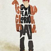 Thom Yorke Typography Art Poster