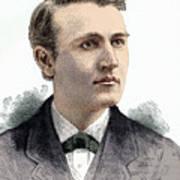 Thomas Edison, American Inventor Poster