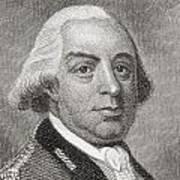 Thomas Gage, 1719 To1787. British Poster