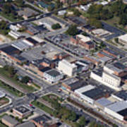 Thomasville Nc Aerial Poster