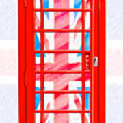 Thoroughly British Flair - Classic Phone Booth Poster