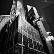 three and four world trade center New York City USA Poster