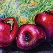 Three Apples Poster