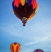 Three Balloons Poster